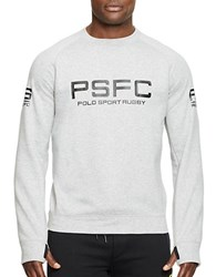 Polo Ralph Lauren Graphic Crewneck Sweatshirt Grey