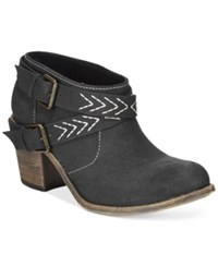 Roxy Janis Ankle Booties Women's Shoes Black