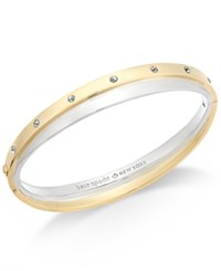 Kate Spade New York Two Tone Double Bangle Bracelet Two Tone