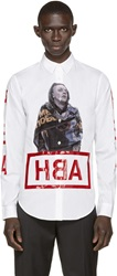 Hood By Air White Squatter Shirt