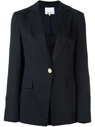 3.1 Phillip Lim Single Button Blazer Blue