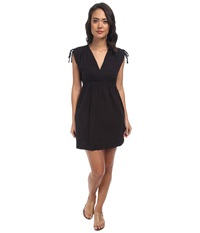 Lauren Ralph Lauren Farrah Dress Cover Up Black Women's Swimwear