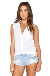 Saint Grace Edge Top White