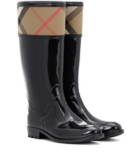 Burberry Crosshill Wellington Boots Black