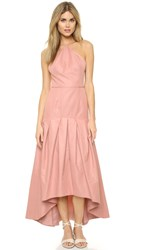 Jill Stuart Mermaid Cocktail Dress Dusty Rose