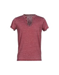 Fifty Four T Shirts Brick Red