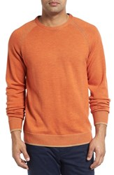 Robert Graham Men's Filberto Sweater Heather Orange