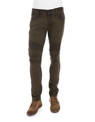 Rogue State Ribbed Jeans Olive