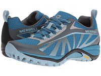 Merrell Siren Edge Faience Forget Me Not Women's Shoes Gray