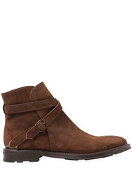 Fratelli Rossetti Suede Ankle Boots Light Brown