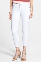 Women's Kut From The Kloth Crop Skinny Jeans White