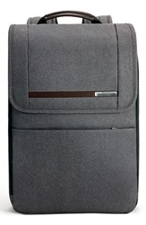 Men's Briggs And Riley 'Kinzie Street' Expandable Backpack Grey