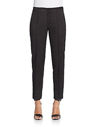 Red Valentino Piped Ankle Pants