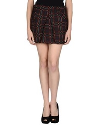 Suncoo Mini Skirts Dark Green