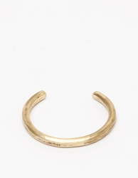 Cause And Effect Brass Bar Cuff