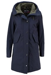 Blauer Parka Dark Blue