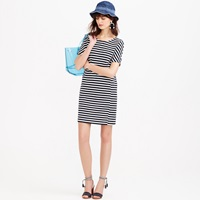 J.Crew Petite Striped Tee Dress
