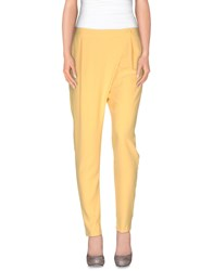Hope Collection Trousers Casual Trousers Women Yellow