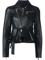 Dsquared2 Belted Biker Jacket Black