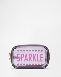 Paperchase Sparkle Cosmetic Case Multi