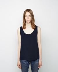 6397 B Ball Tank Top Navy