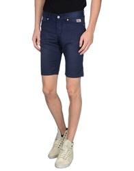 Roy Rogers Roy Roger's Trousers Bermuda Shorts Men Dark Blue
