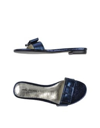 Atelier Mercadal Sandals Dark Blue