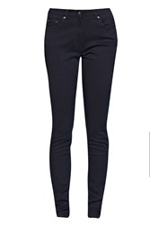 Great Plains Angels High Waisted Skinny Jeans Dark Blue