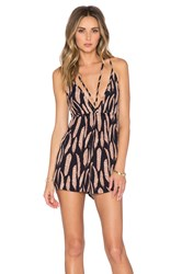 Blue Life Rebel Romper Black