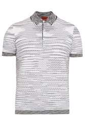 Missoni Exclusive Patterned Cotton Polo Shirt