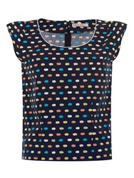 Trollied Dolly Easy Peasy Top Navy