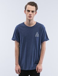 Huf Triple Triangle Streaky Heather S S T Shirt