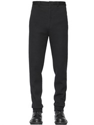 Lanvin 18Cm Cotton Blend Jersey Pants