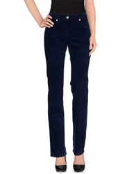 Cappopera Trousers Casual Trousers Women Dark Blue