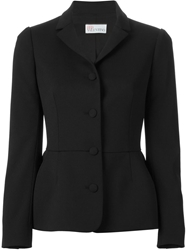 Red Valentino Peplum Blazer Black