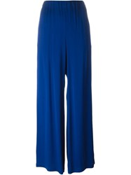 Gianluca Capannolo Pleated Palazzo Pants Blue