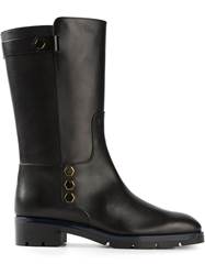 Tod's Calf Length Boots Black