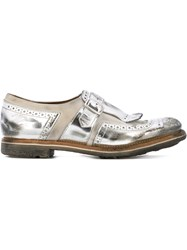 Church's Metallic Loafers Grey