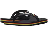 Quiksilver Molokai Wide Black Red Green Men's Sandals