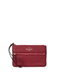 Kate Spade Bee Leather Wristlet Dynasty Red