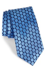 Nordstrom Men's Men's Shop 'Sixties Circles' Dot Silk Tie Nvy Blue