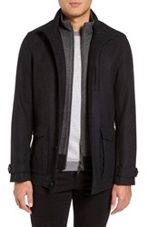 Ted Baker Men's London Wool Blend Jacket With Zip Out Bib