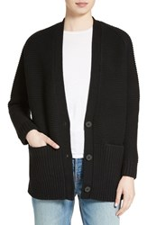 Vince Women's Wool And Cashmere Long V Neck Cardigan