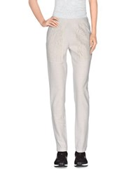 Dimensione Danza Trousers Casual Trousers Women Light Grey