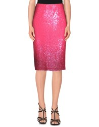 Blumarine Skirts Knee Length Skirts Women Fuchsia