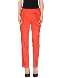 Class Roberto Cavalli Trousers Casual Trousers Women Coral