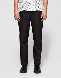 Obey Straggler Flooded Pant Black