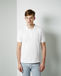 Acne Studios Kolby Polo White
