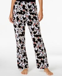 Briefly Stated Mickey Mouse Plush Pajama Pants