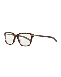 Oliver Peoples Stone Rectangle Fashion Glasses Tortoise